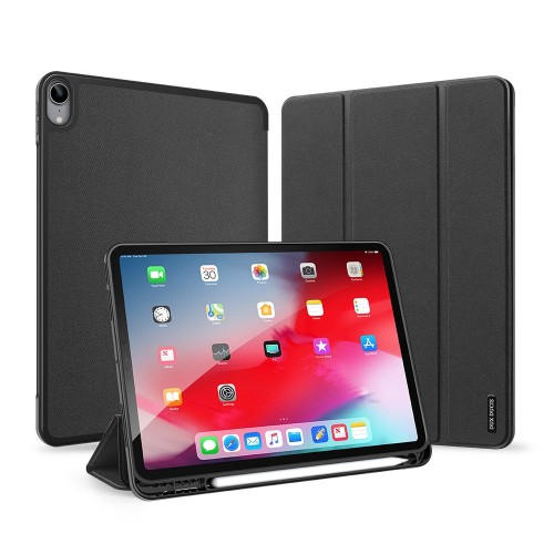 DUX DUCIS Domo TPU gel tablet cover with multi-angle stand for iPad Air 2020 black