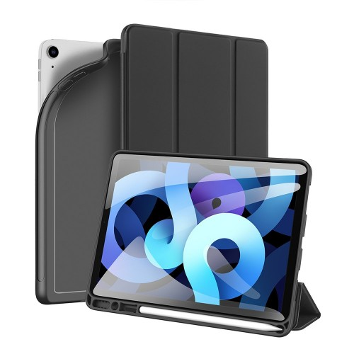 """DUX DUCIS Osom TPU gel tablet cover with multi-angle stand and Smart Sleep function for iPad Pro 11"""" 2021 black"""