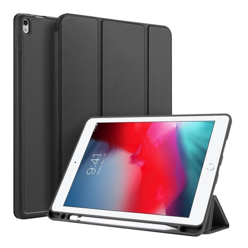 DUX DUCIS Osom TPU gel tablet cover with multi-angle stand and Smart Sleep function for iPad Air 3 2019 / iPad Pro 10.5 black