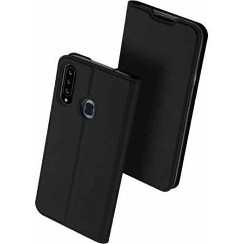 DUX DUCIS Skin Pro Bookcase type case for Samsung Galaxy A20s black