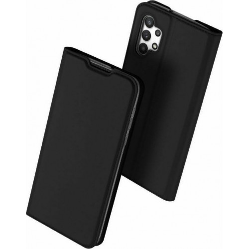DUX DUCIS Skin Pro Bookcase type case for Samsung Galaxy A32 5G black
