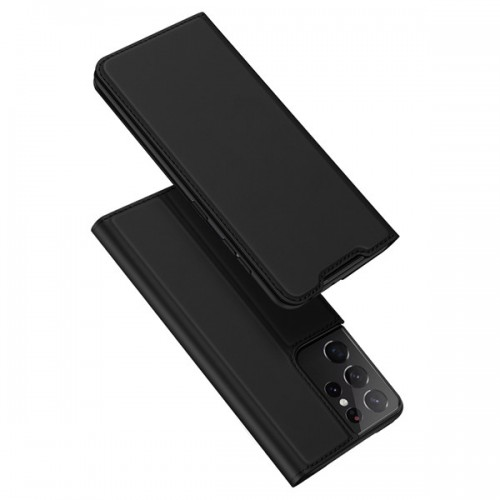DUX DUCIS Skin Pro Bookcase type case for Samsung Galaxy S21 Ultra 5G black
