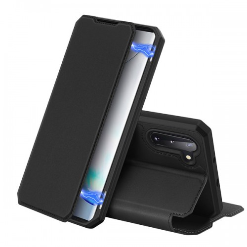 DUX DUCIS Skin X Bookcase type case for Samsung Galaxy Note 10 black