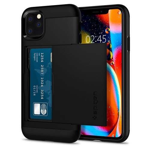 Spigen Slim Armor Cs Iphone 11 Pro Μαύρο