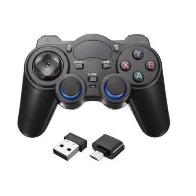 Wireless Game Controller 850M with micro USB OTG adapter
