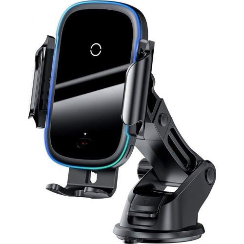 BASEUS Wireless car charger with holder - 15W Light Electric WXHW03-01 black