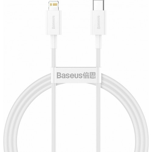 BASEUS USB Cable - Superior Series CATLYS-A02 Type-C - IPHONE lightning 1M 20W white