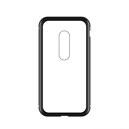 Wozinsky Magnetic Case Full Body Front και Back Cover για OnePlus 7 μαύρη