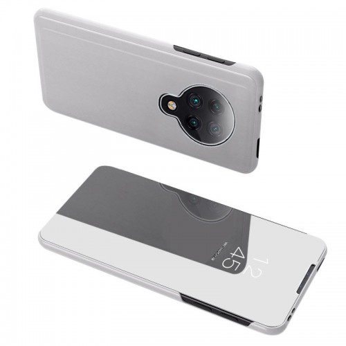 Clear View Case cover for Xiaomi Redmi K30 Pro / Poco F2 Pro silver