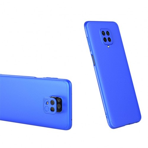 GKK 360 Protection Case Front and Back Case Full Body Cover Xiaomi Redmi Note 9 Pro / Redmi Note 9S μπλε