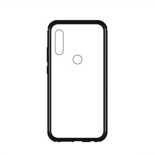 Wozinsky Magnetic Case Full Body Front και Back Cover για OnePlus 7 Pro μαύρη