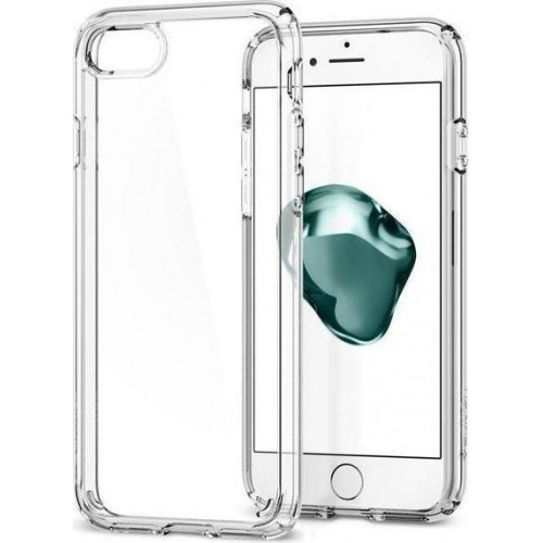 Spigen Θήκη Ultra Hybrid 2 iPhone 7/8 Crystal Clear