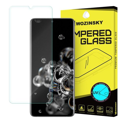 Wozinsky Tempered Glass UV screen protector 9H for Samsung Galaxy S20 Ultra (in-display fingerprint sensor friendly) - without glue and LED lamp