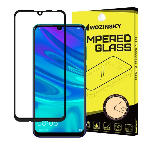 Wozinsky Full Cover Tempered Glass 9H για Huawei P Smart 2019 / Honor 10 Lite μαύρο