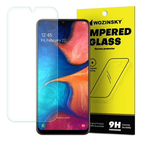 Wozinsky Tempered Glass 9H Screen Protector for Samsung Galaxy A20e (packaging – envelope)