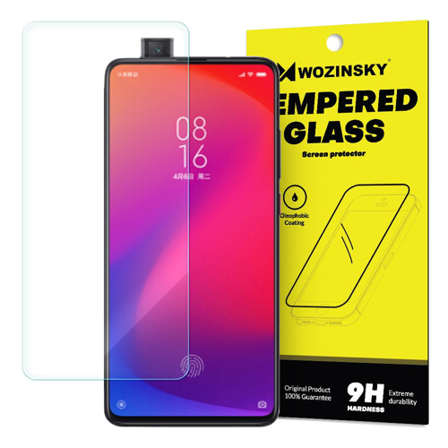 Wozinsky Tempered Glass 9H Screen Protector for Xiaomi Mi 9T Pro / Mi 9T (packaging – envelope)