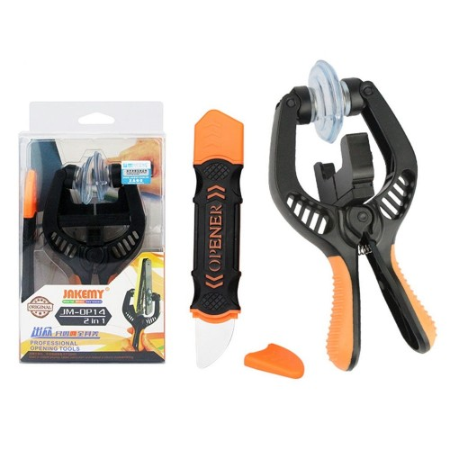 Jakemy JM-OP14 Elastic Spudger Super Strong Suction For iPhone Screen LCD Opening Pliers Tool