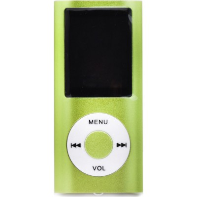 Setty Digital MP4 Player με υποστήριξη microSD & FM radio (Πράσινο)