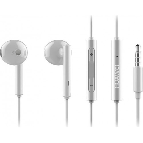 Huawei AM115 Handsfree Earbuds με 3.5mm jack Λευκό