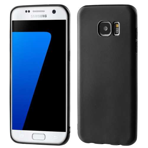 Hurtel Soft Matt θήκη για Samsung Galaxy S7 Edge G935 μαύρη