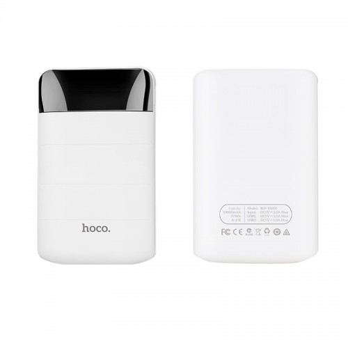 HOCO B29 Domon Power Bank 10000mAh λευκό