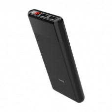HOCO B35C Entourage Power Bank 12000mAh με LED οθόνη μαύρο