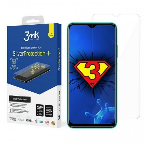 3MK Silver Protect + Xiaomi Redmi 9T Wet-mounted Antimicrobial Film
