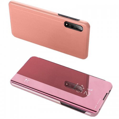 Clear View Case cover for Xiaomi Mi CC9e / Xiaomi Mi A3 pink