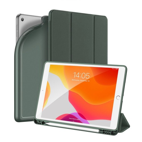 DUX DUCIS Osom TPU gel tablet cover with multi-angle stand and Smart Sleep function for iPad 10.2' 2019 green