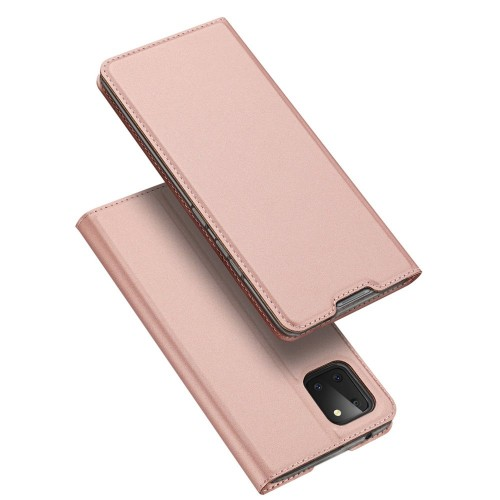 DUX DUCIS Skin Pro Bookcase type case for Samsung Galaxy Note 10 Lite pink