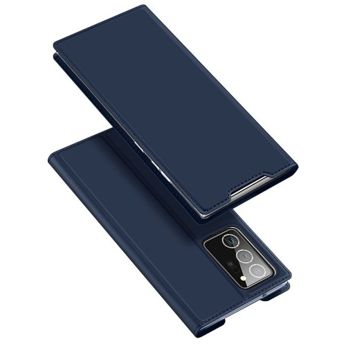 DUX DUCIS Skin Pro Bookcase type case for Samsung Galaxy Note 20 Ultra blue
