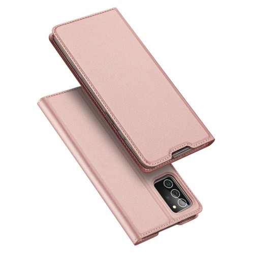 DUX DUCIS Skin Pro Bookcase type case for Samsung Galaxy Note 20 pink