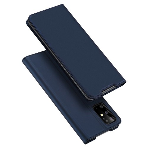 DUX DUCIS Skin Pro Bookcase type case for Samsung Galaxy S20 Plus blue