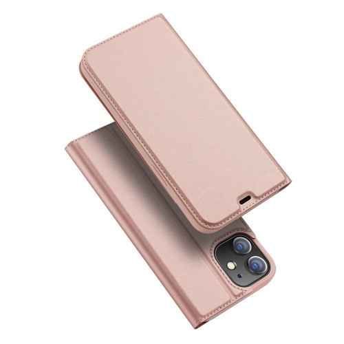 DUX DUCIS Skin Pro Bookcase type case for iPhone 12 mini pink