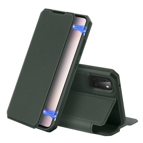 DUX DUCIS Skin X Bookcase type case for Samsung Galaxy Note 10 Lite green