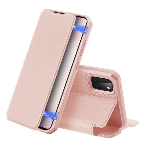 DUX DUCIS Skin X Bookcase type case for Samsung Galaxy Note 10 Lite pink