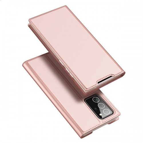 DUX DUCIS Skin X Bookcase type case for Samsung Galaxy Note 20 Ultra pink