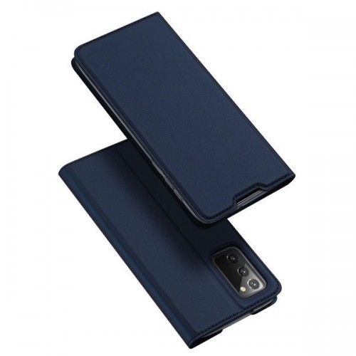 DUX DUCIS Skin X Bookcase type case for Samsung Galaxy Note 20 blue