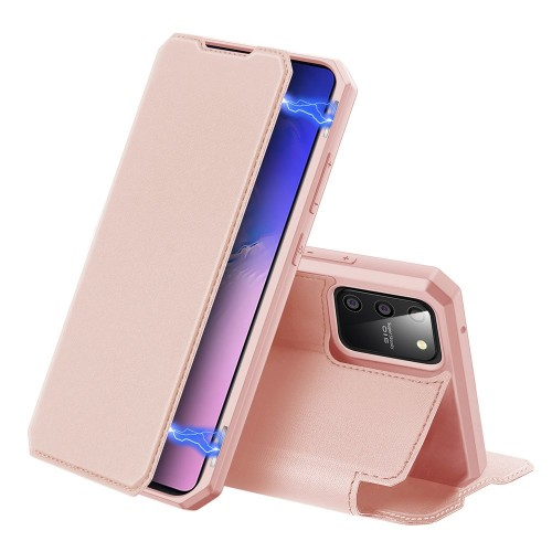 DUX DUCIS Skin X Bookcase type case for Samsung Galaxy S10 Lite pink