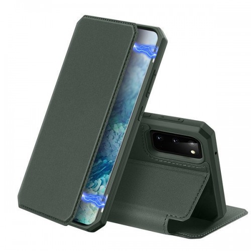 DUX DUCIS Skin X Bookcase type case for Samsung Galaxy S20 green