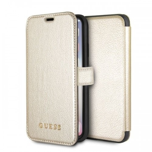 Guess Iridescent Book Gold (iPhone X/Xs)