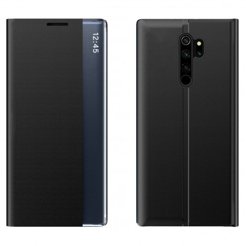 New Sleep Case Bookcase Type Case with kickstand function for Xiaomi Redmi Note 8 Pro black