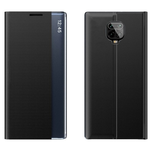 New Sleep Case Bookcase Type Case with kickstand function for Xiaomi Redmi Note 9 Pro / Redmi Note 9S black