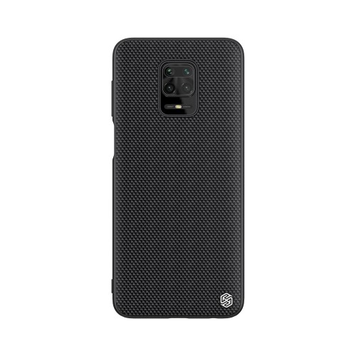 Nillkin Textured Case rugged cover with gel frame and nylon on the back Xiaomi Redmi Note 9 Pro / Redmi Note 9S black