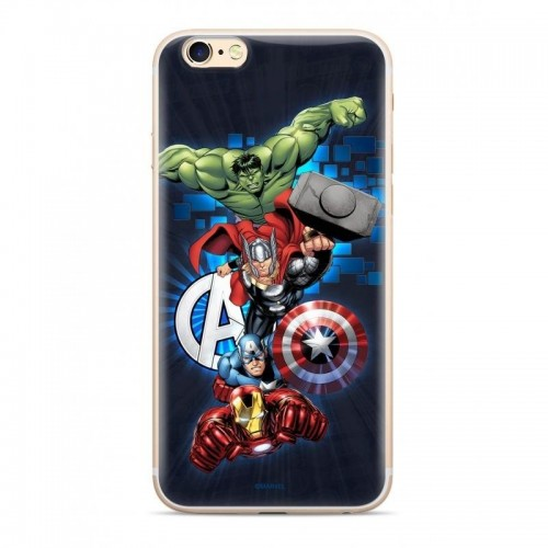 Original case Marvel Avengers 001 for Xiaomi Redmi Note 7 marineblau (MPCAVEN126)