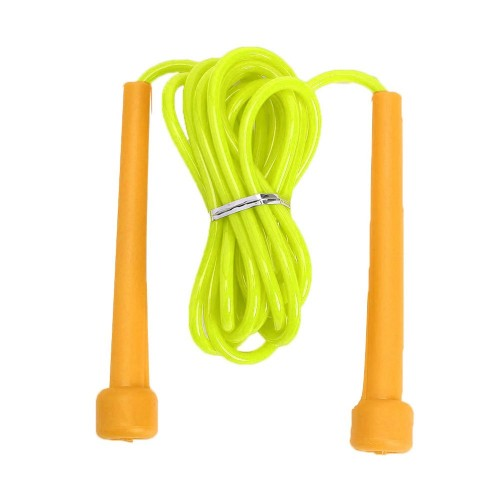 Skipping jumping rope fitness crossfit training yellow