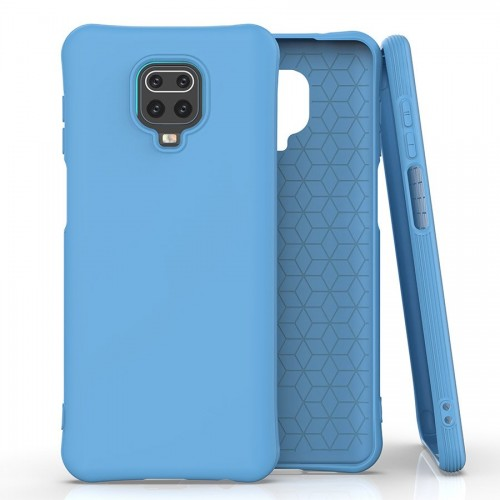 Soft Color Case flexible gel case for Xiaomi Redmi Note 9 Pro / Redmi Note 9S blue