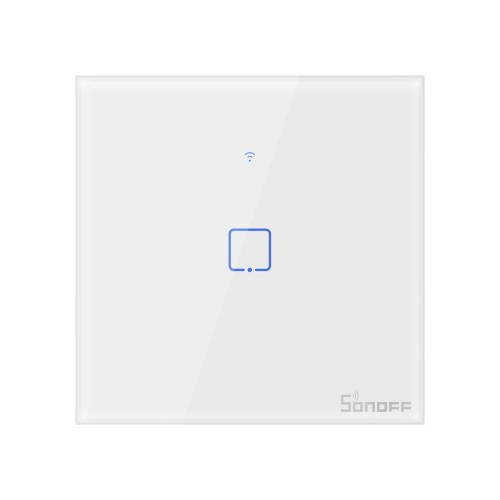 Sonoff T0EU1C-TX touch Wi-Fi wireless wall smart switches white (IM190314009)