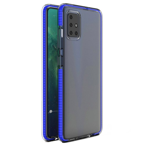 Spring Case Back Cover Σιλικόνης Μπλε (Redmi Note 9S / 9 Pro / 9 Pro Max)