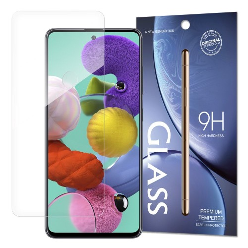 Tempered Glass 9H Screen Protector for Samsung Galaxy A51 (packaging – envelope)